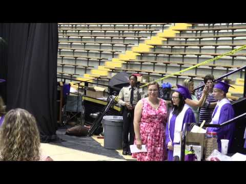 Purvis High School 2016 Graduation