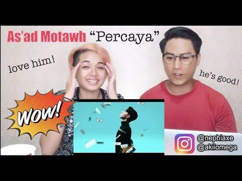 As'ad Motawh - Percaya    SINGERS REACT