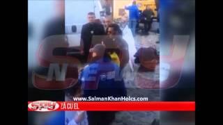 Salman Khan and Daisy Shah on the sets of Jai Ho in Romania !