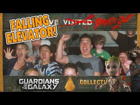 STUCK ON A FALLING ELEVATOR!!! Guardians...