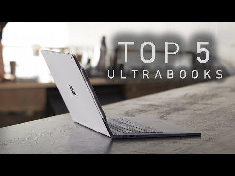 Top 5 Ultrabooks (Late 2018)
