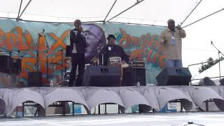 """Niggers Are Scared of Revolution"" Last Poets at Malcolm X Jazz Festival, Oakland"