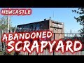 Abandoned Scrapyard in Newcastle! We Got on The Roof!