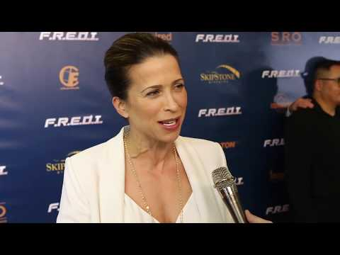 Christina Cox FREDI Movie Red Carpet
