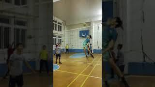 Волейбол удар урок