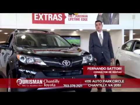 Ourisman Toyota Chantilly >> Ourisman Chantilly Toyota Latino Comercial 2015 Toyotathon Youtube