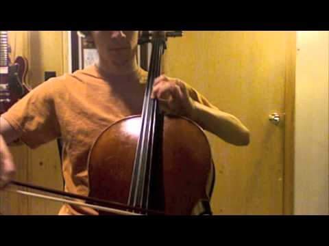 Sarabande from Cello Suite no 3. in C Major by Bach
