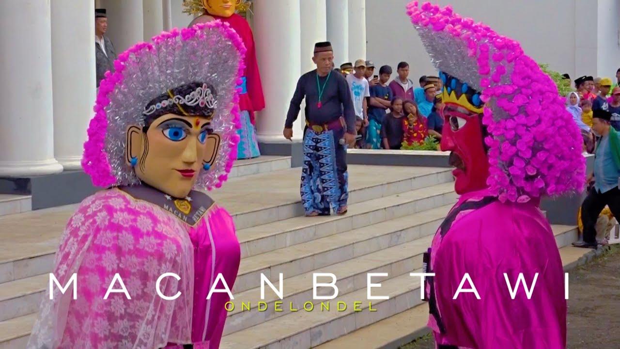 Ondel Ondel Macan Betawi Ondel2 Festival Jatinegara Youtube