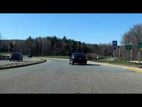 Massachusetts Turnpike (Interstate 90 Exit 10) inbound
