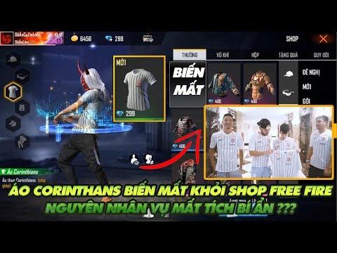 Garena Free Fire|  Nguyên Nhân Bí ẩn Việc áo Corinthians Biến Mất Khỏi Shop Free Fire Việt Nam