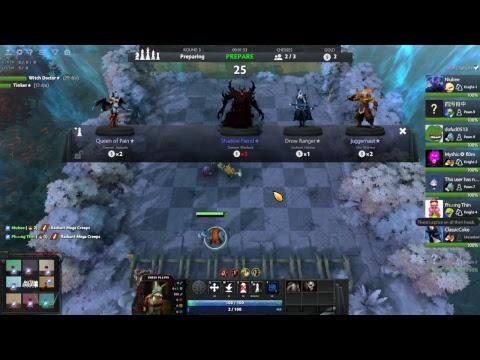 dota gameplay party crusader