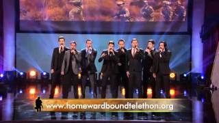 Gentleman's Rule Performs on the Military Channel for the Homeward Bound Telethon