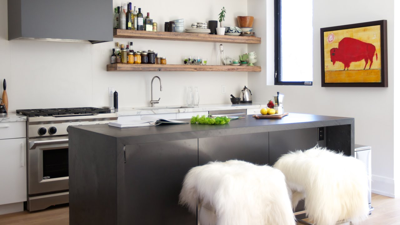 Interior Design — High-Contrast, Warm, Open-Concept Family ...