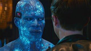 Гарри Озборн объединяется с Электро. Новый Человек-паук: Высокое напряжение. 2014