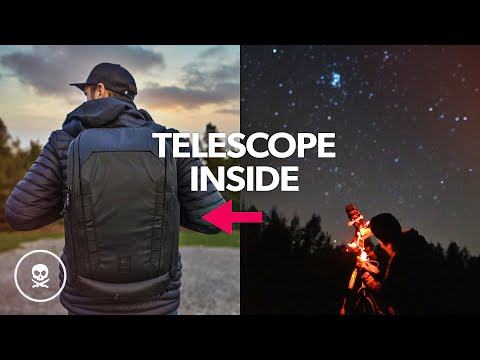 Using Peter McKinnon's New Camera Bag for TRAVEL ASTROPHOTOGRAPHY!