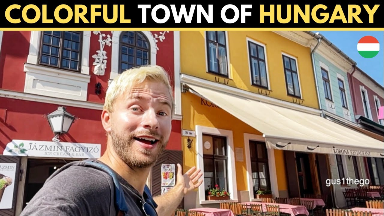 Colorful Town of HUNGARY (Szentendre)