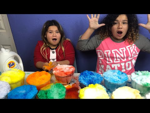 MAKING 2 GALLONS OF RAINBOW CLOUD SLIME- MAKING GIANT SLIMES