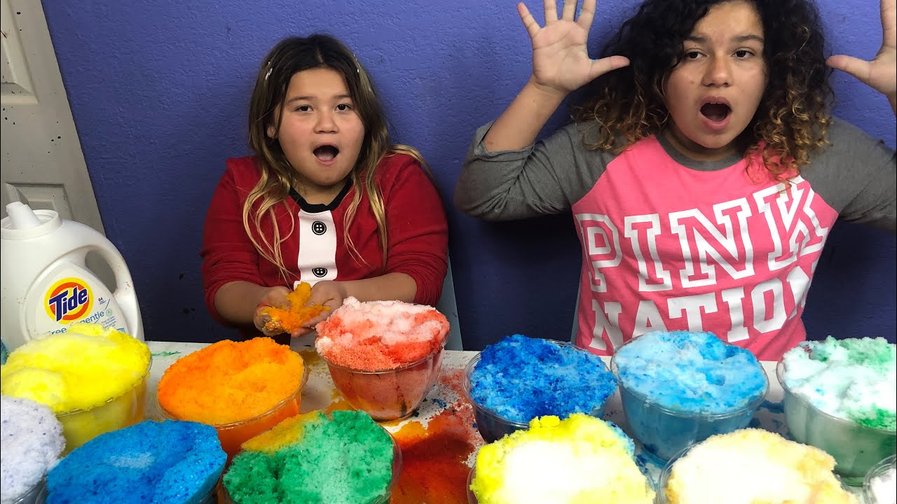Slime Mary Izzy: MAKING 2 GALLONS OF RAINBOW CLOUD SLIME- MAKING GIANT