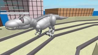 ROBLOX - Super Hero City 3 - Fixed Dino Roars!