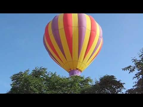 Balloon Launch Urbana City Park July 2009