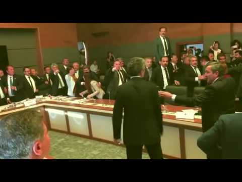 Turkish Parliament Fight 2016 + Slipknot