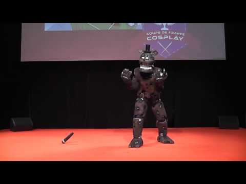 Freddy (FNAF) by Freddy's Cosplay - Coupe de France Cosplay CGC 2017