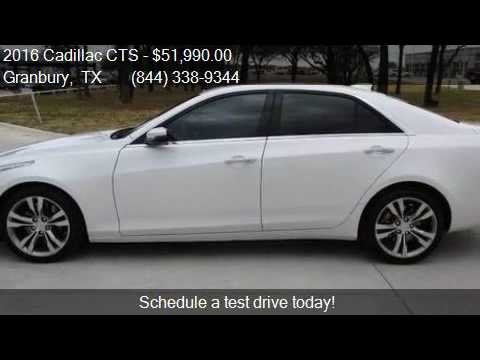 2016 Cadillac Cts 3 6l Tt Vsport Premium 4dr Sedan For Sale Youtube