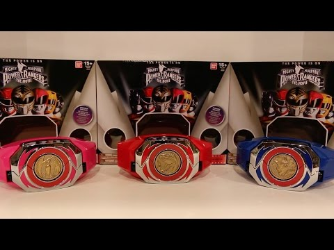 Legacy Movie Power Morpher Red/Blue/Pink Ranger Edition [Mighty Morphin Power Rangers: The Movie]