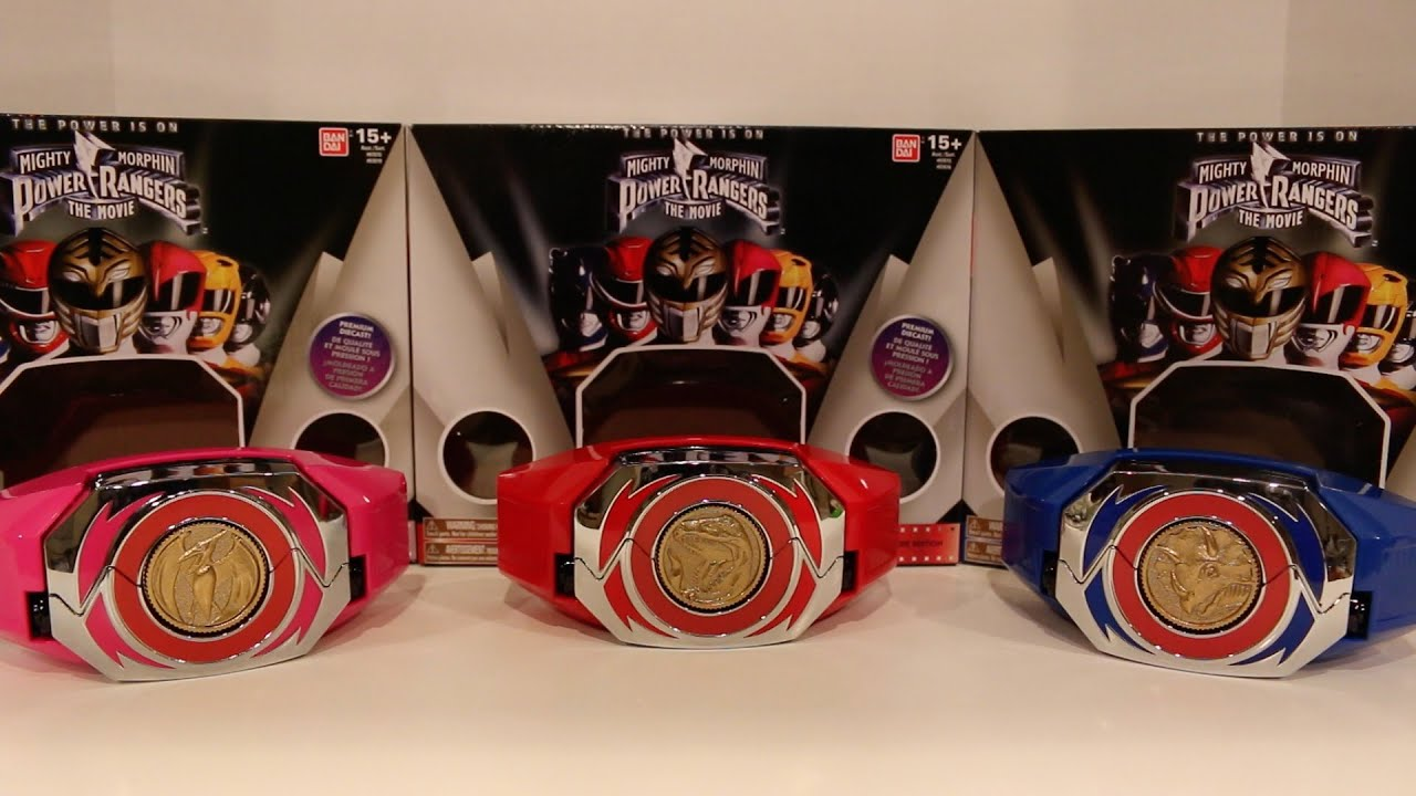 Legacy Movie Power Morpher Red/Blue/Pink Ranger Edition