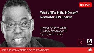 What's NEW in Adobe InDesign - November 2019