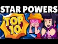 The Top 10 BEST Star Powers! - Get these NOW!
