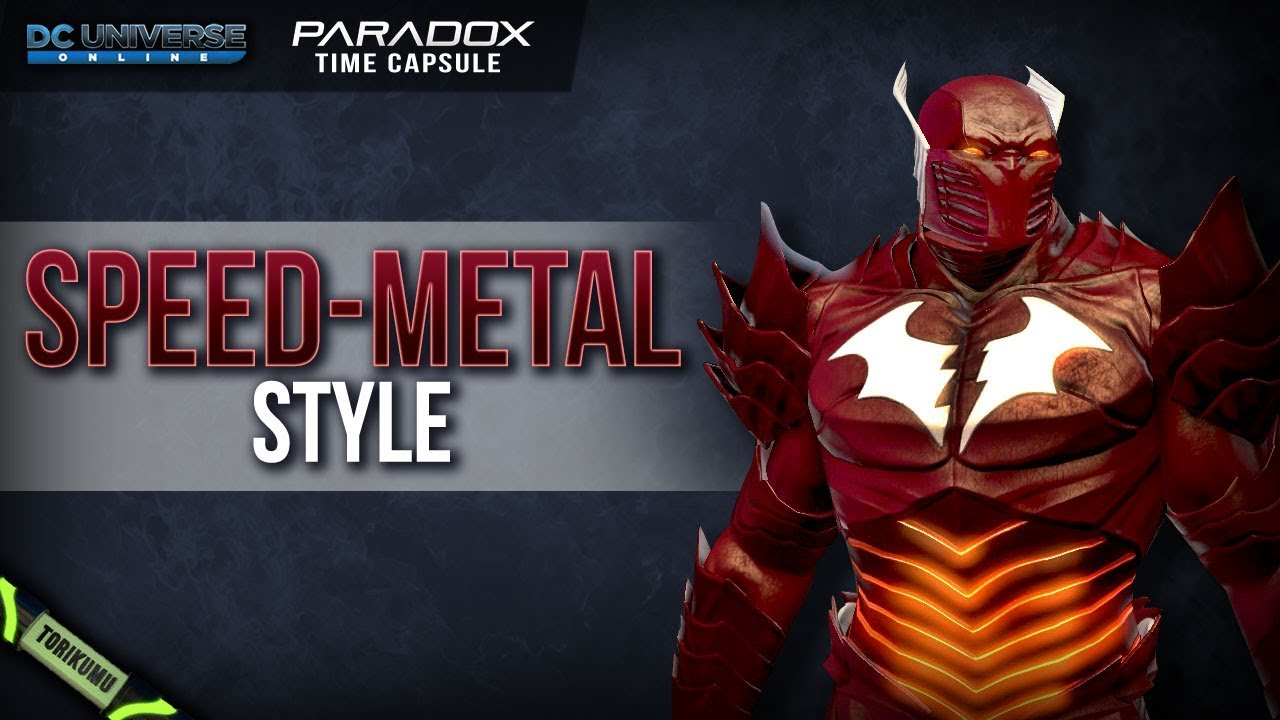 Dcuo Halloween 2020 Capsule DCUO: Speed Metal Style (Inspired by The Red Death) | Paradox Time