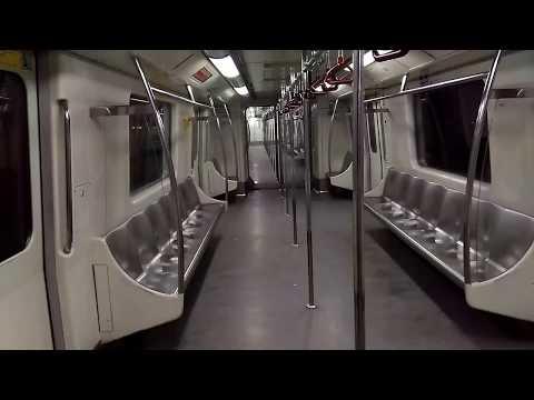 Delhi metro fastest train last ride world class train