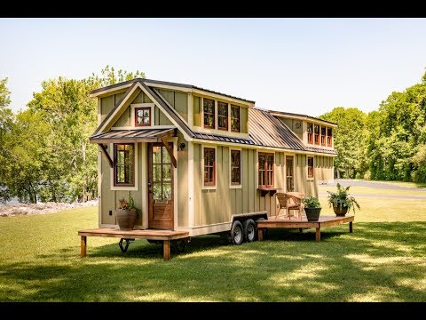 The ultimate tiny house on wheels youtube for Micro homes on wheels