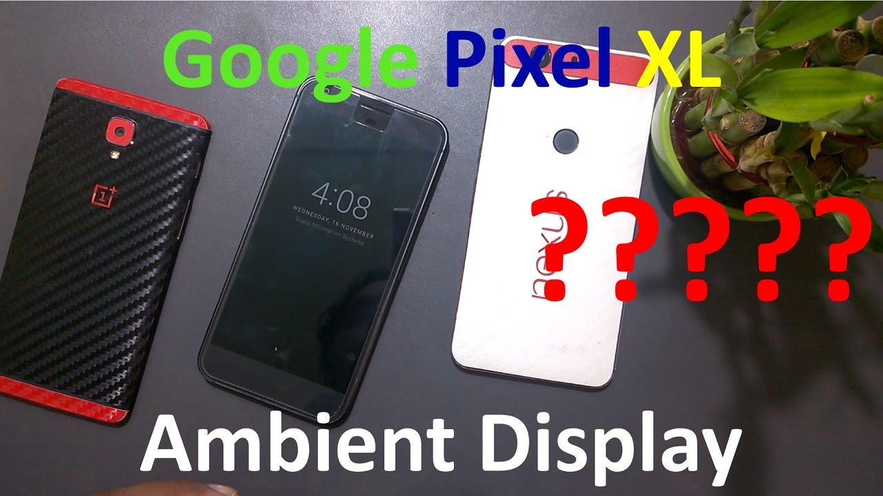 Image result for pixel Ambient Display