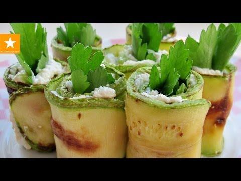 Легкая закуска из кабачков от Мармеладной Лисицы. И никакого майонеза!
