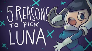 5 REASONS TO PICK LUNA