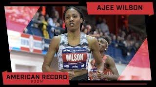 Ajee WIlson Breaks 800m American Record At Millrose Games