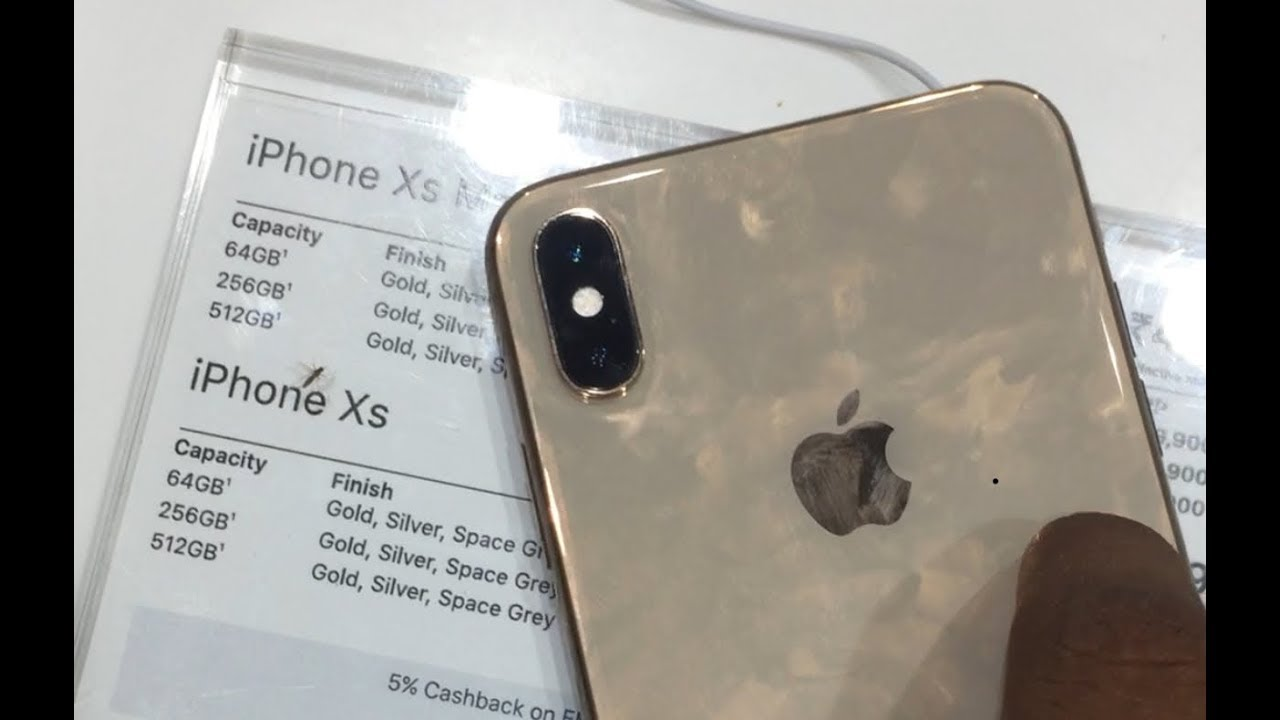 iPhone XS Launched in India | Iphone XS Price and Camera test