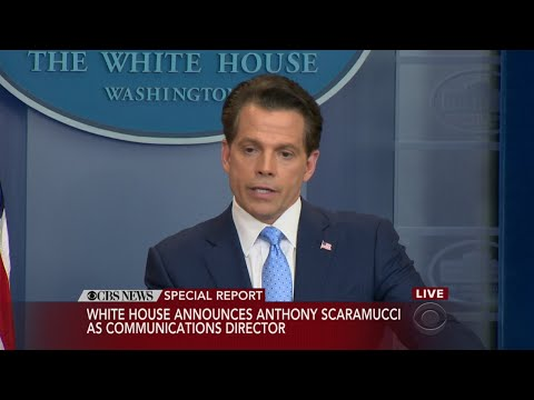 Download Youtube: Anthony Scaramucci Press Conference