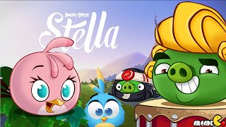 Angry Birds Stella - NEW Pigs On The Block Gameplay Walkthrough Part 6