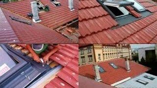 Acoperis renovat montat tigla ceramica, metalica, fereastra Velux, reparatii acoperisuri cluj-napoca