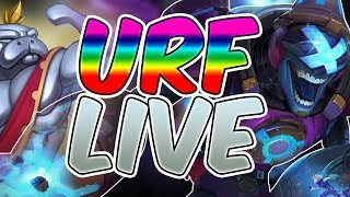 Ultra Rapid Fire 2017 LIVE - URF 2017 League of Legends - OP CHAMPIONS URF