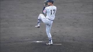 2018/09/16 国際武道大・青野善行投手
