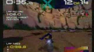 Wipeout 64 Opening and Gameplay Nintendo 64