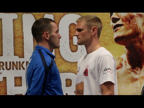 ANDY TOWNEND v LEE GLOVER - HEAD TO HEAD @ FINAL PRESS CONFERENCE / MARCHING ON TOGETHER