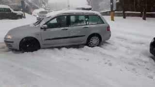 Snehova Kalamita v Bratislave, Snow Calamity in Bratislava 30/01/2015