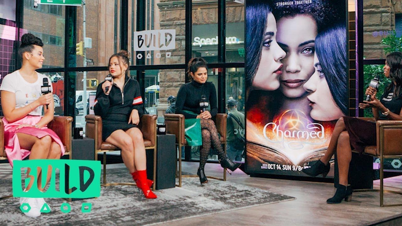 Melonie Diaz, Sarah Jeffery & Madeleine Mantock Discuss The