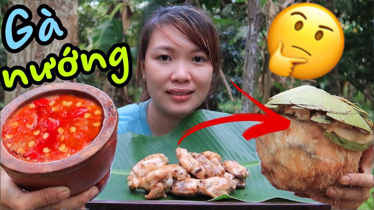 Ăn Cánh Gà Nướng Thổ Địa Chấm Muối Ớt Siêu Cay (The Best Grilled Chicken) – Miền Tây Vlogs Tập 408