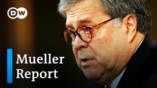 Attorney General Barr on release of redacted Mueller Report | DW News
